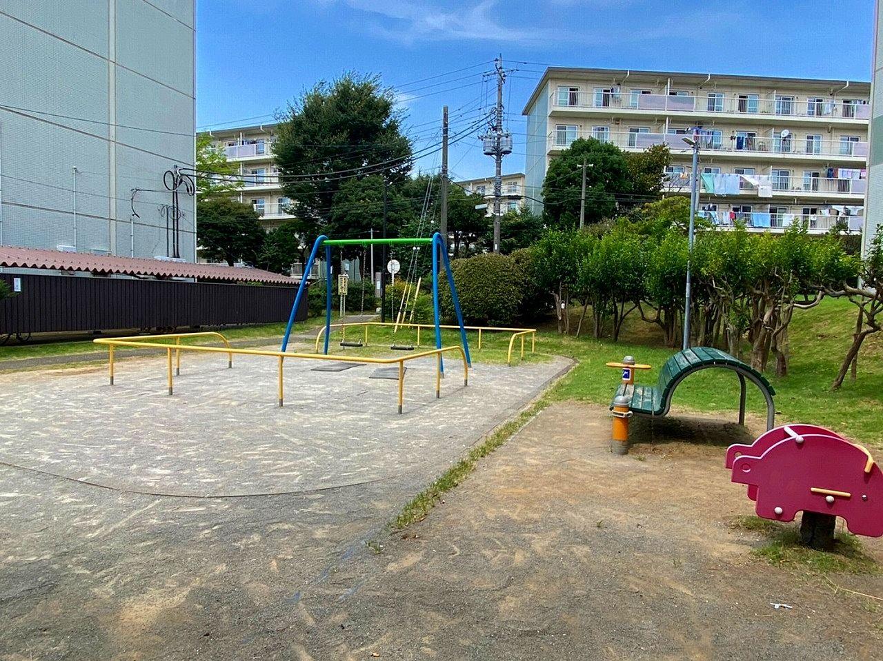 団地内に公園がありました